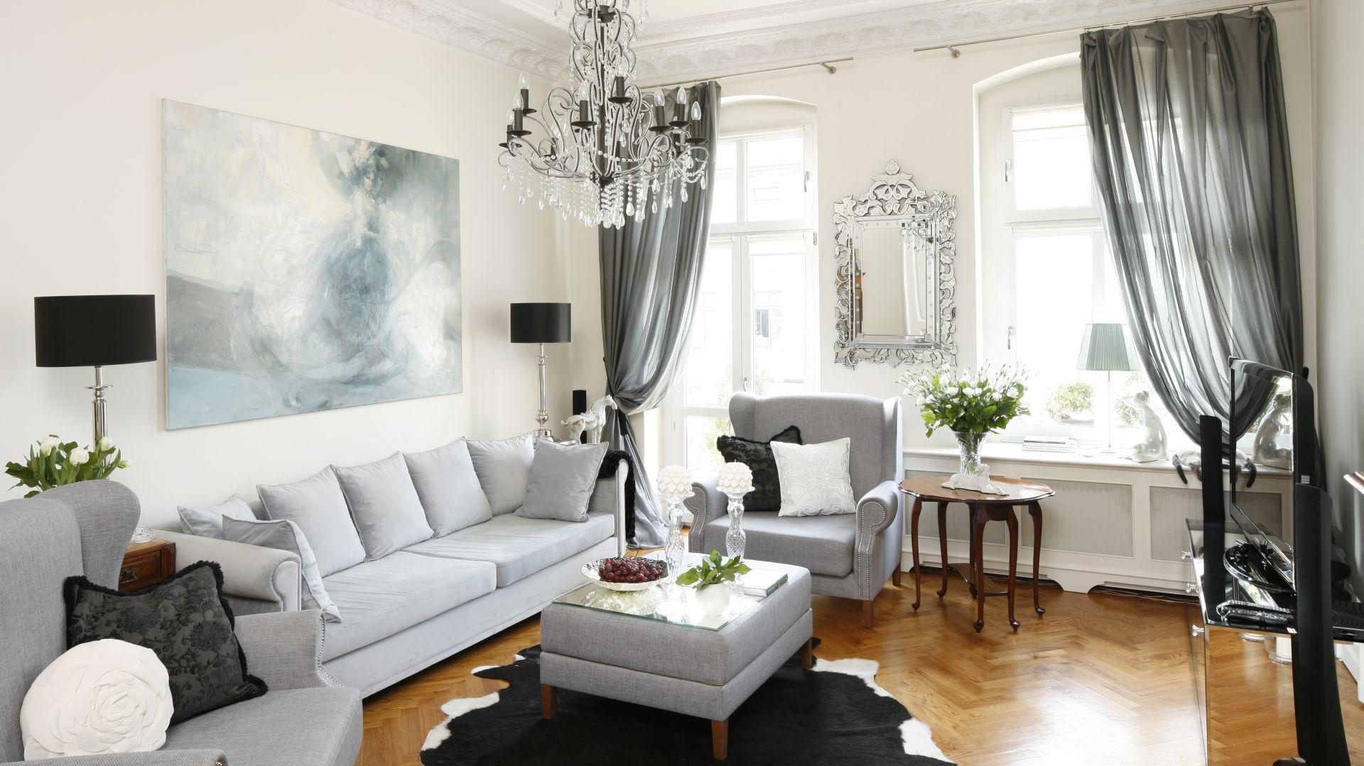 Klasyczny salon - 10 pięknych wnętrz