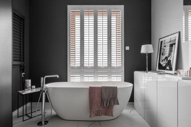 Nowoczesna łazienka: zobacz wnętrze w stylu Audrey Hepburn