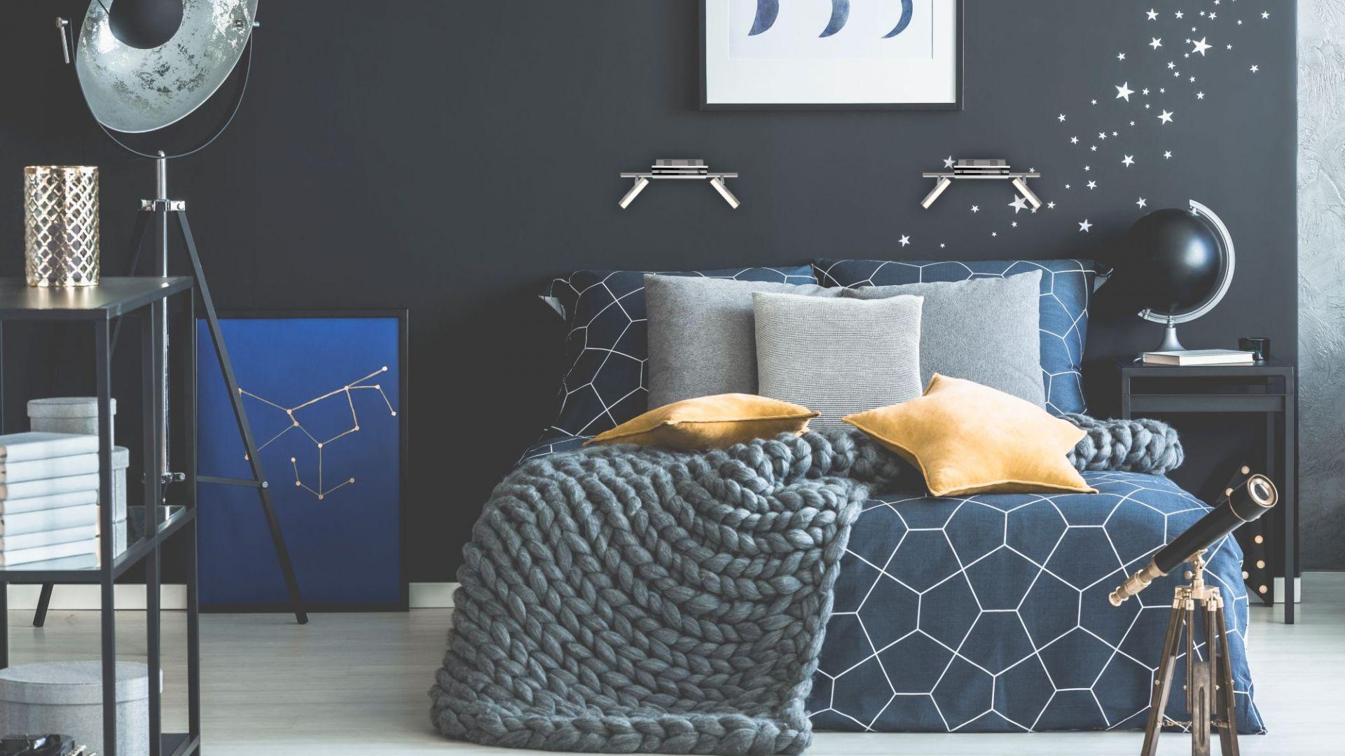 Modna sypialnia, kolekcja oświetlenie z serii Xenia. Fot. Activejet