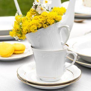 Piękna porcelana, wiosenna kolekcja Kamelia. Fot. Chodzież