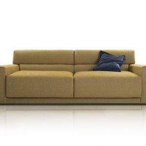 Meble do salonu: sofa Cloud. Fot. Inspirium