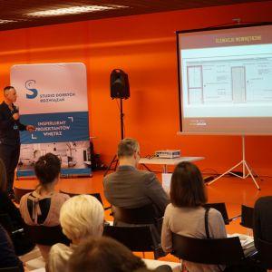 Łukasz Staśkiewicz z firmy Stan Design (partnera sprzedażowego WSC Graphisoft)