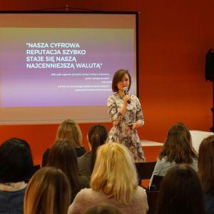 Social media - wystąpienie eksperta Monika Gawanowska strateg marki