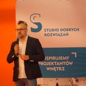 Wystąpienie gościa specjalnego Architekt Maciej Bołtruczyk właściciel pracowni Projekt MB