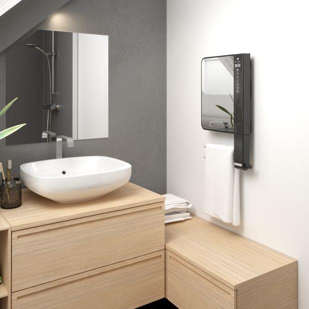 Nowość do łazienki - grzejnik z lustrem