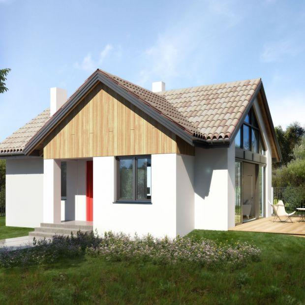 Mały domek. Zobacz projekt 54 metrów