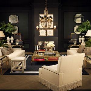 Luksusowe wnętrza w stylu vintage chic. Fot. Clue-Studio