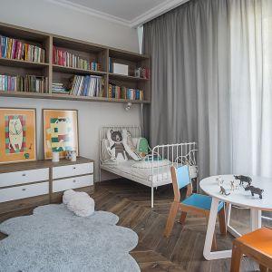 Apartament na Bielanach. Projekt: Jacek Tryc. Fot. Jacek Tryc - wnętrza