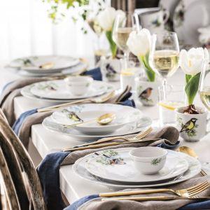 Piękna porcelana na garden party. Fot. Fyrklövern