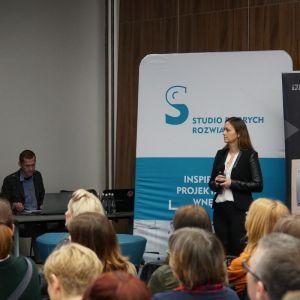Justyna Sudoł z firmy Rejs
