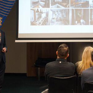 Marcin Pietrzyk z firmy CAD Projekt K&A