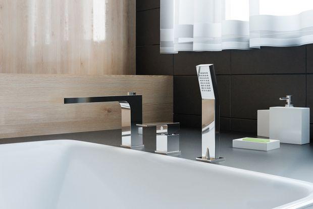 Baterie do łazienki - postaw na minimalizm
