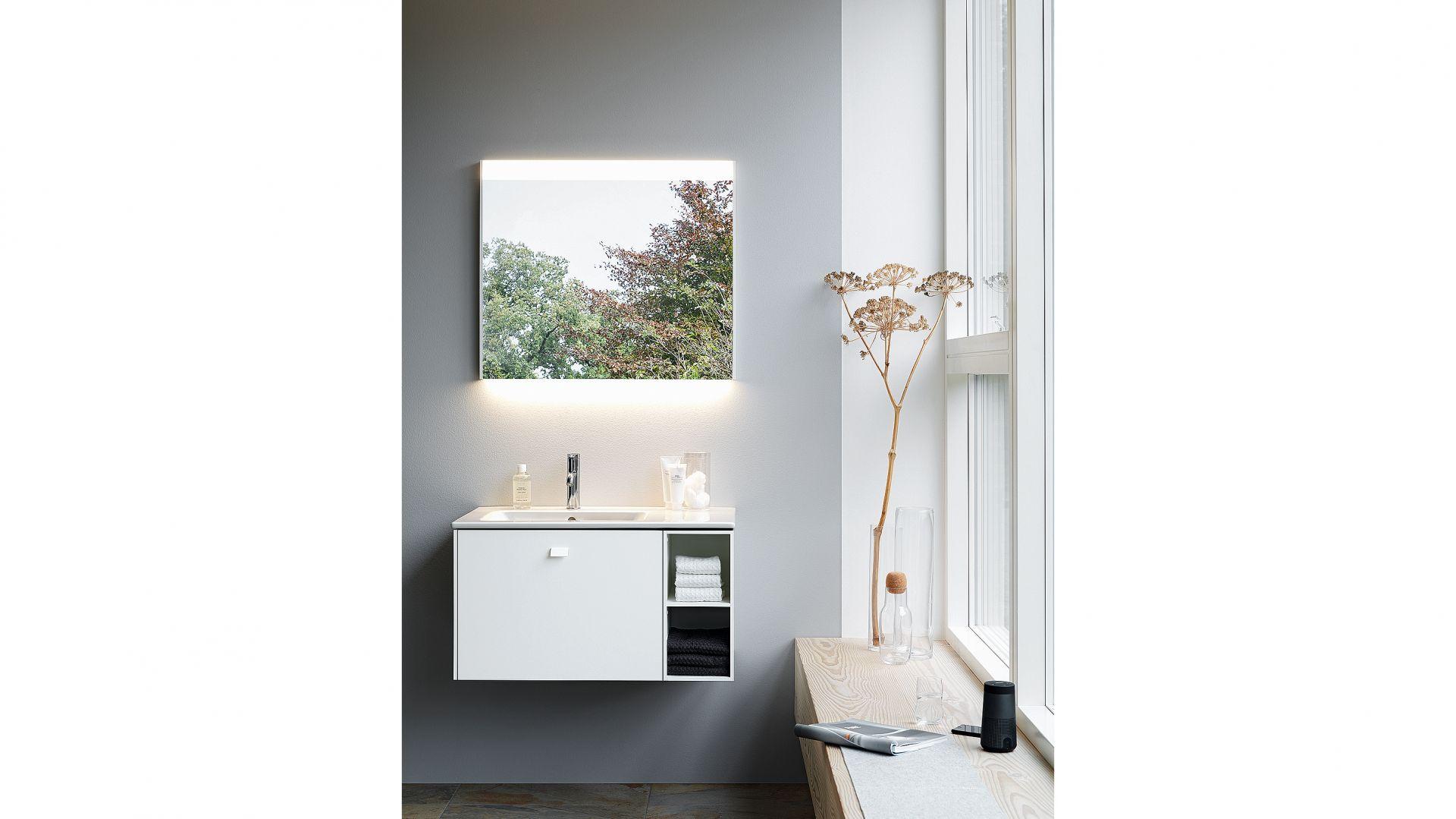 Meble do łazienki z kolekcji Brioso dostępne w ofercie firmy Duravit. Fot. Duravit
