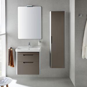 Meble do łazienki z kolekcji Dama-N dostępne w ofercie firmy Roca. Fot. Roca