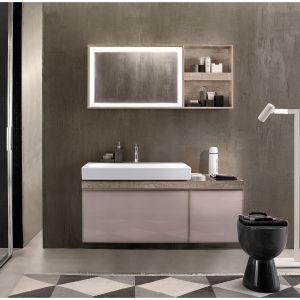 Meble do łazienki z kolekcji Citterio dostępne w ofercie firmy Keramag. Fot. Keramag