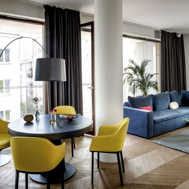 Piękne wnętrze: zobacz apartament inspirowany Madrytem