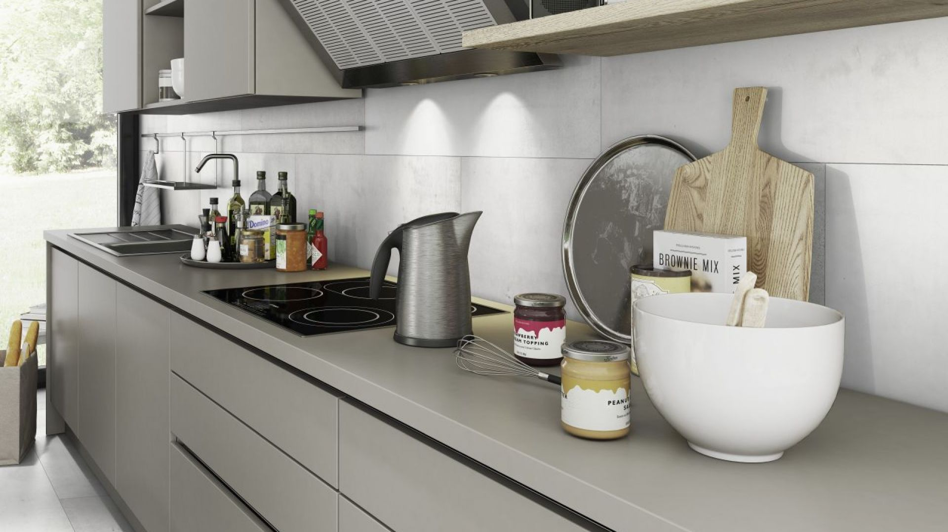 Płytki Ceramin Vario z powodzeniem można zastosować w kuchni. Fot. Classen