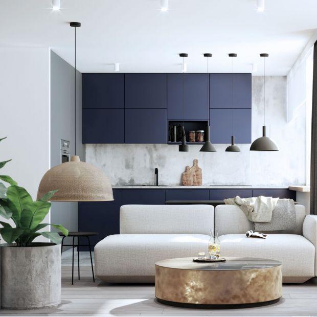 Piękne, nowoczesne mieszkanie: przestrzeń dżentelmena