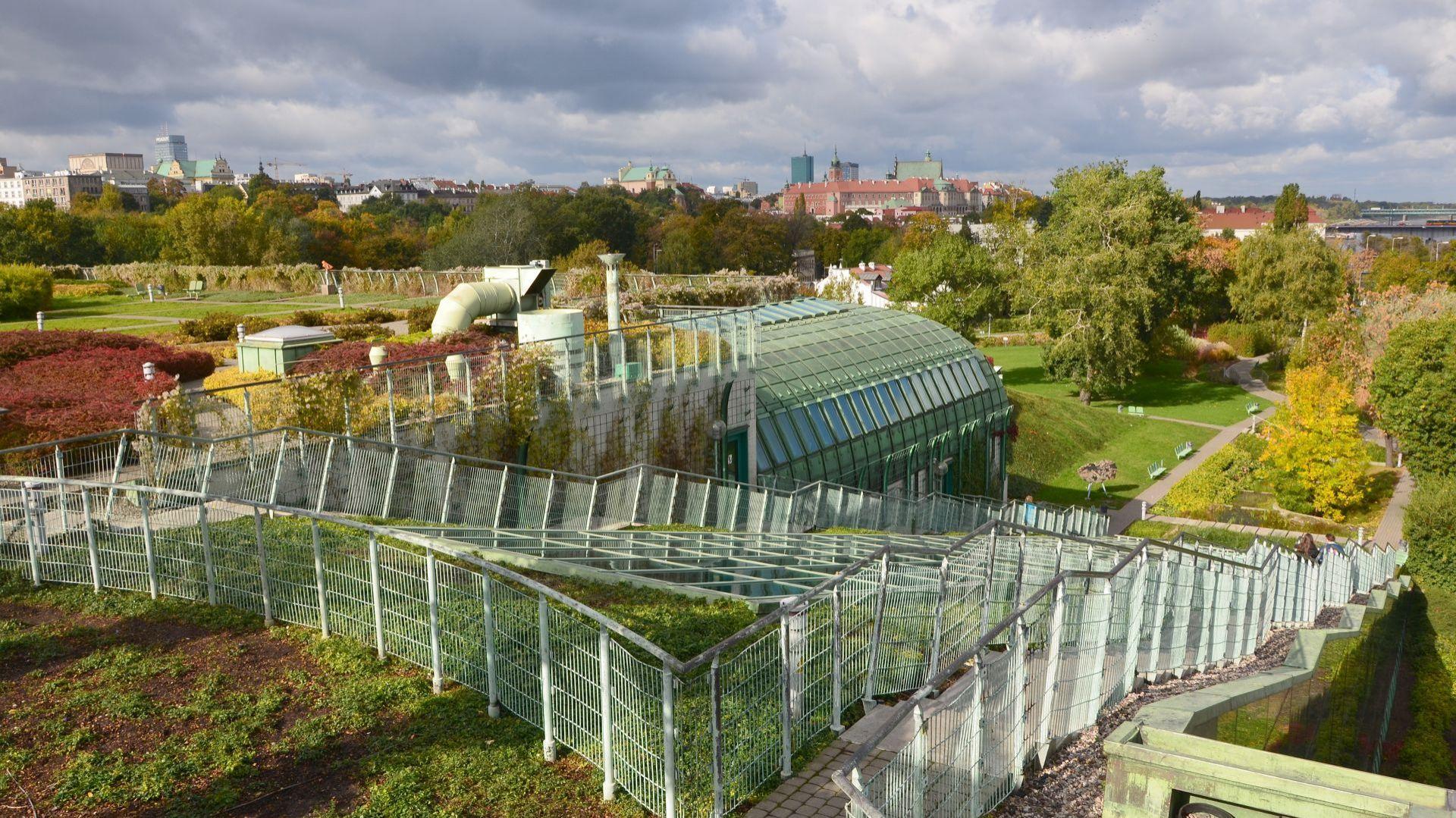 Ogród na dachu Biblioteki Uniwersyteckiej w Warszawie. Foto_ BUW3.JPG