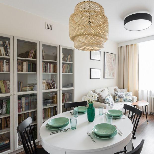 Przytulne mieszkanie: nieduże, lecz pomysłowo zaaranżowane