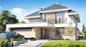 Dom Oszust przeznaczony jest dla 4-5-osobowej rodziny. Projekt to propozycja dla osób, pragnących mieszkać w domu piętrowym, ale posiadających działkę, na której przepisy zakazują wznoszenie budynków z piętrem.