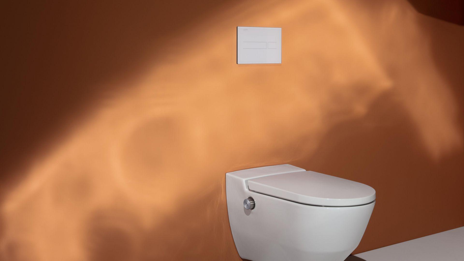 Higiena na najwyższym poziomie - nowa toaleta myjąca Navia. Fot. Laufen