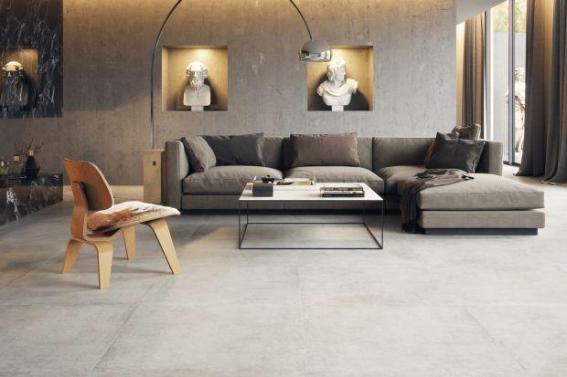 Artystyczne wnętrze  - drewno czy beton na podłodze?