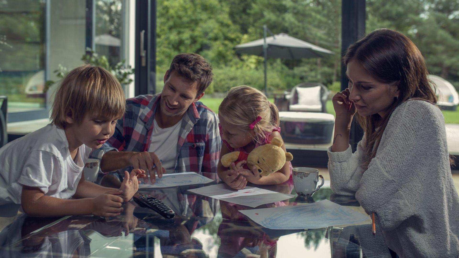 Inteligentne domy - automatyczne rozwiązania w zakresie stolarki otworowej. Fot. G-U Polska