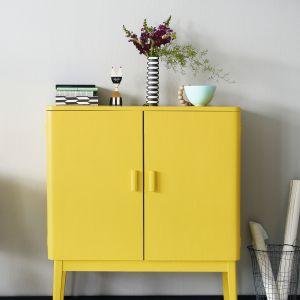 Aranżacja wnętrza - modny żółty. Fot. Tikkurila