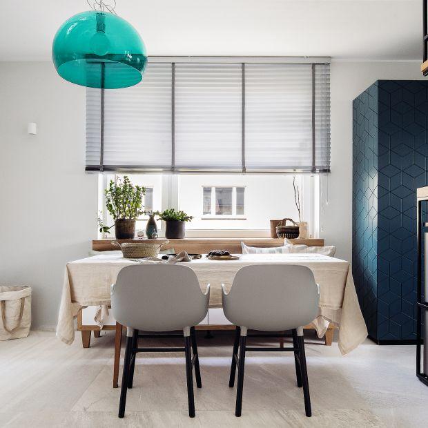 Kuchnia z jadalnią: piękne wnętrze w nowoczesnym stylu