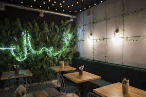 Restauracja Bangkok w Wejherowie. Projekt: SOLI Architekci. Fot. Katarzyna Lipińska