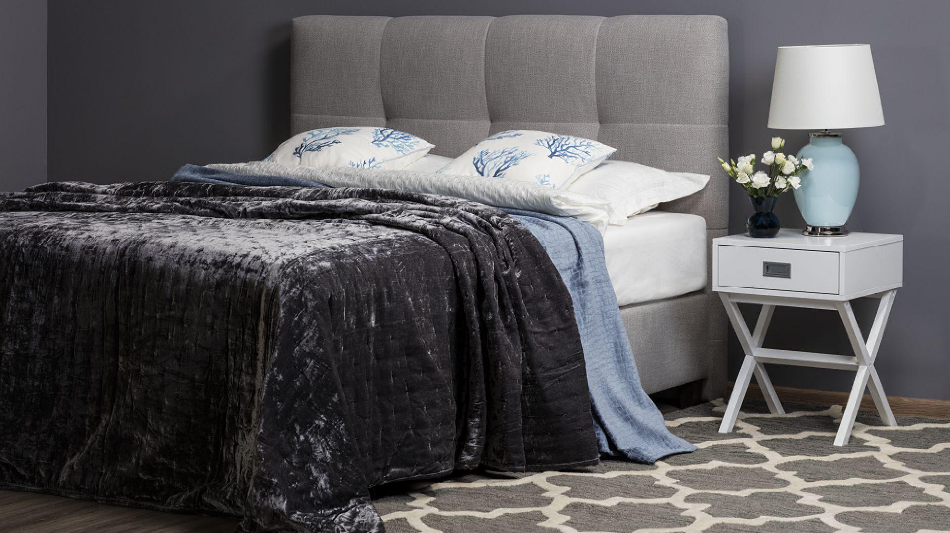 Łóżko kontynentalne Isabel marki Comforteo. Fot. Comforteo