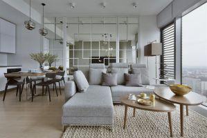 Zgodnie z życzeniem inwestorów motywem przewodnim aranżacji niespełna 60-metrowego apartamentu stała się Japonia i styl Zen. Projekt: Monika i Adam Bronikowscy (HOLA Design). Fot. Yassen Hristov