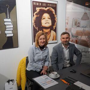 Stoisko firmy CR Soft, partnera firmy CAD Projekt K&A
