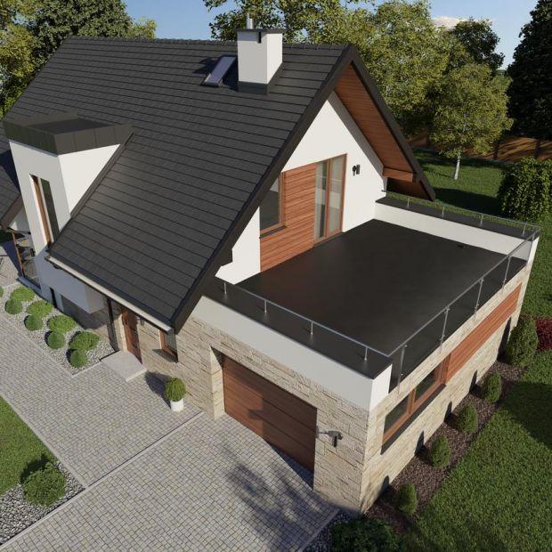 Nowoczesny dach płaski - wybierz wodoodporną membranę EPDM