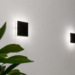 Nowoczesne oświetlenie boczne - modne kinkiety. Fot. AQForm