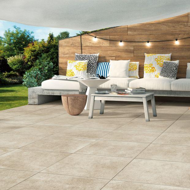 Płyty gresowe z efektem betonu: dobre rozwiązanie na taras