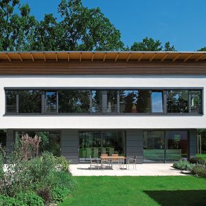 Piękne panoramiczne okna. Fot. Awilux/Schüco