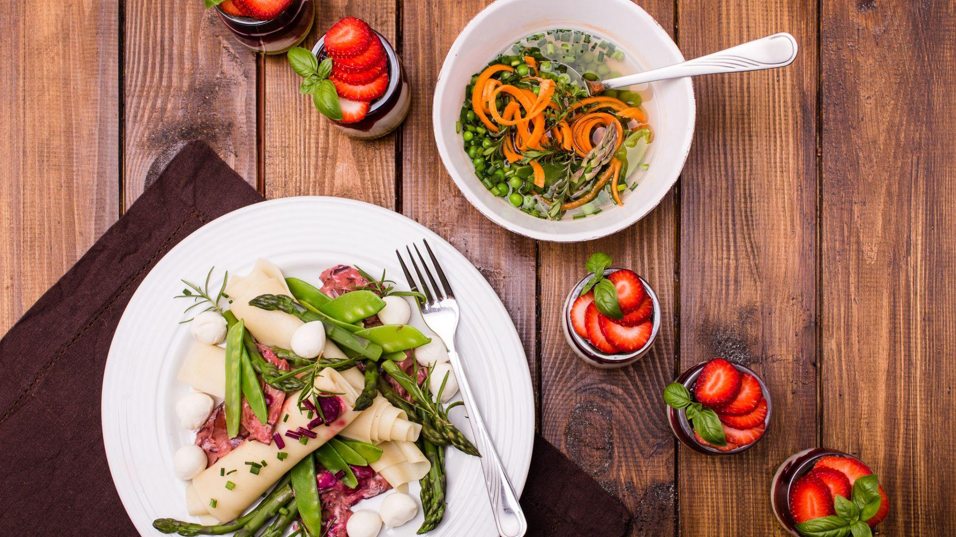 Wiosenny obiad. Fot. Liebherr