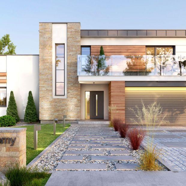 Dom dla rodziny. Piękny projekt i wnętrza 150 metrów