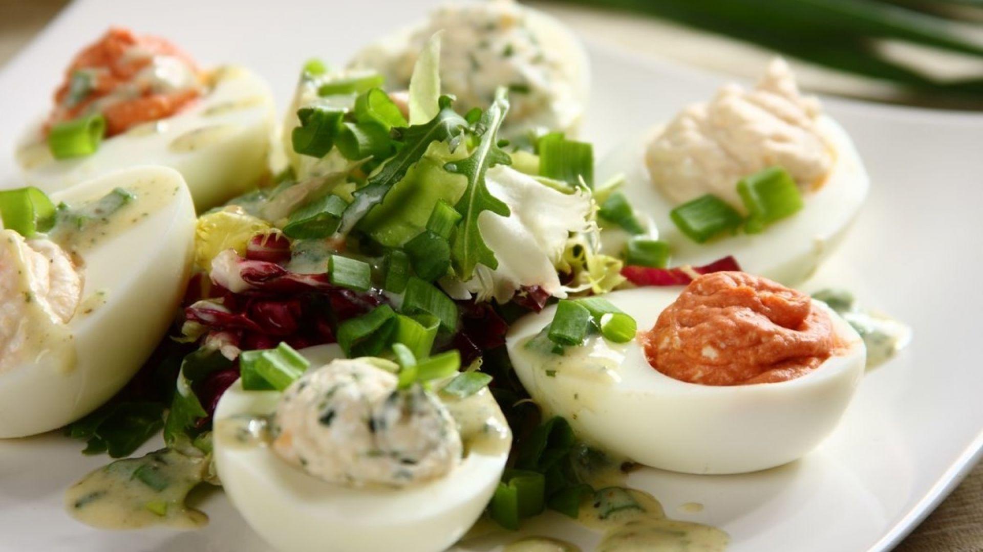 Jajko faszerowane. Fot. Knorr