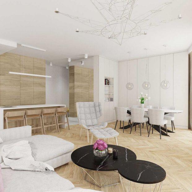 Drewno na ścianie - ciekawe aranżacje salonu, sypialni i pokoju dziecka