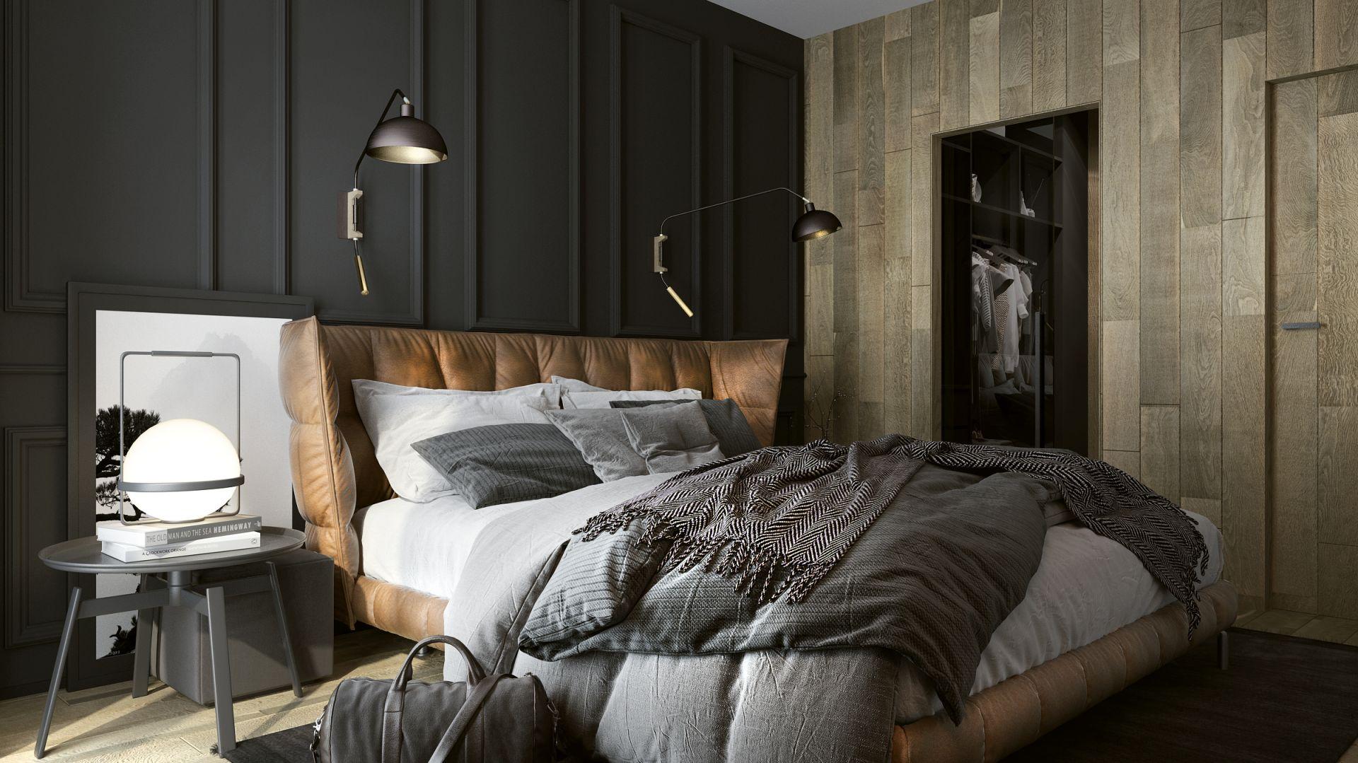 Drewno Na ścianie Ciekawe Aranżacje Salonu Sypialni I