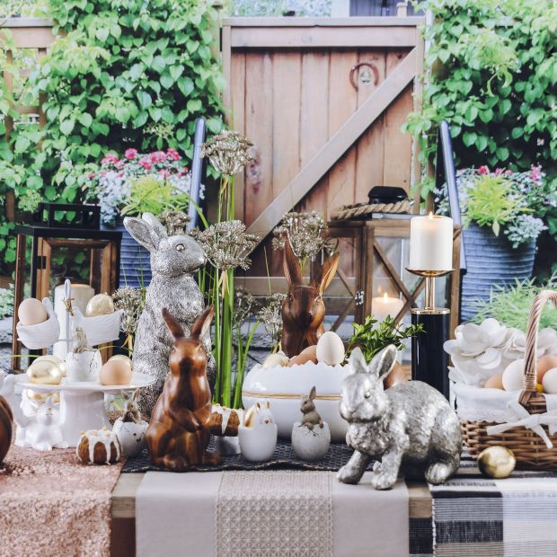 Wielkanocne dekoracje - dodatki w naturalnym klimacie