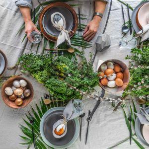 Wielkanocny stół. Fot. Decoroom