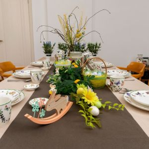Wielkanocny stół. Fot. Action