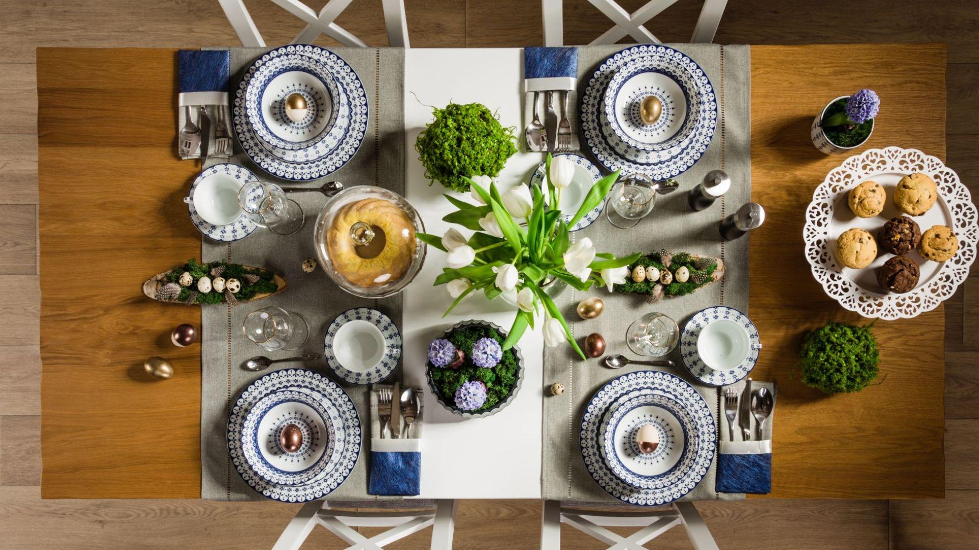 Wielkanocny stół. Fot. Agata