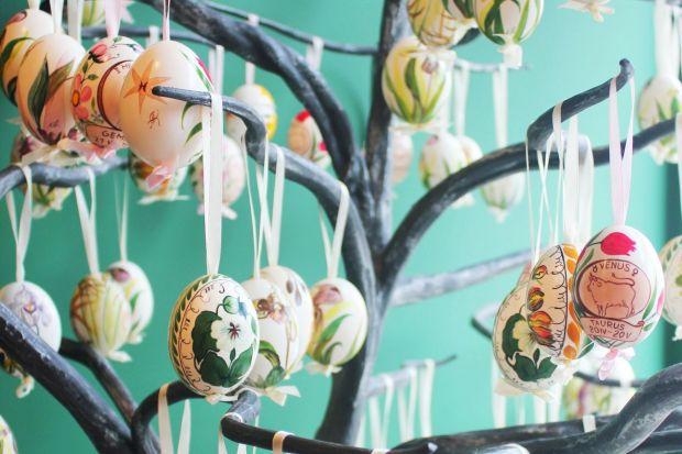 Wielkanocne dekoracje - pisanki w artystycznym wydaniu