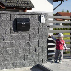 Ogrodzenie z bloczków Polbruk Antara II. Fot. Polbruk