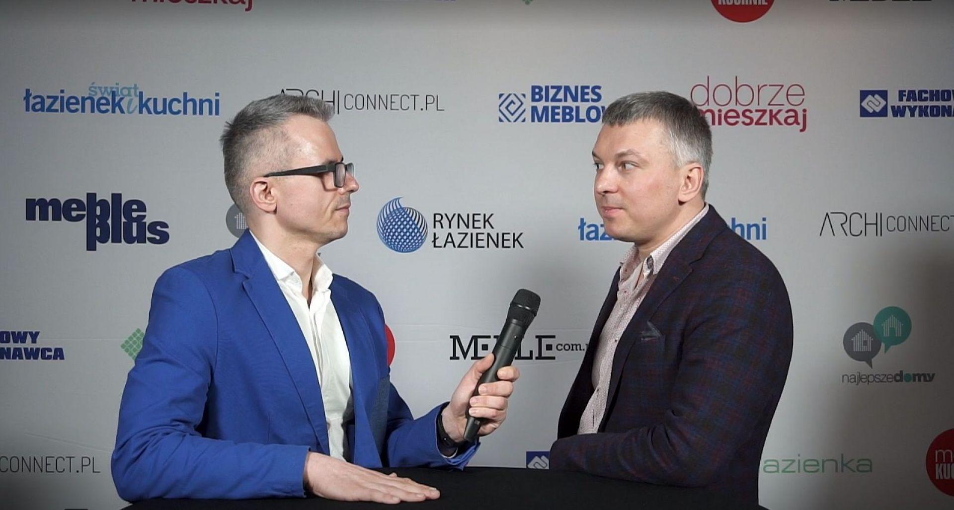 Denis Łukjanow, współwłaściciel marki Blue Water